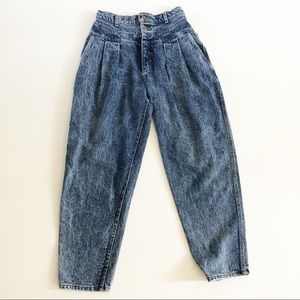 VINTAGE | 80's Lee Pleated Mom Jeans No Pockets